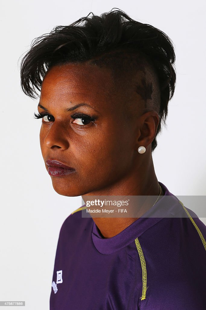 <a gi-track='captionPersonalityLinkClicked' href=/galleries/search?phrase=Karina+LeBlanc&family=editorial&specificpeople=2473661 ng-click='$event.stopPropagation()'>Karina LeBlanc</a> #23 of Canada during the FIFA Women's World Cup 2015 portrait session at the Delta Edmonton South on June 3, 2015 in Edmonton, Canada.