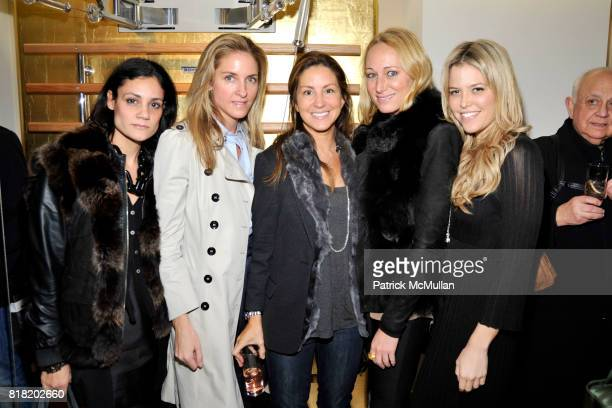 Karina Lepiner Karen Lorrain Liz Cohen Alex Kramer and Ali Wise attend Technogym US Showroom Launch Event at 70 Greene St on November 16 2010 in New...