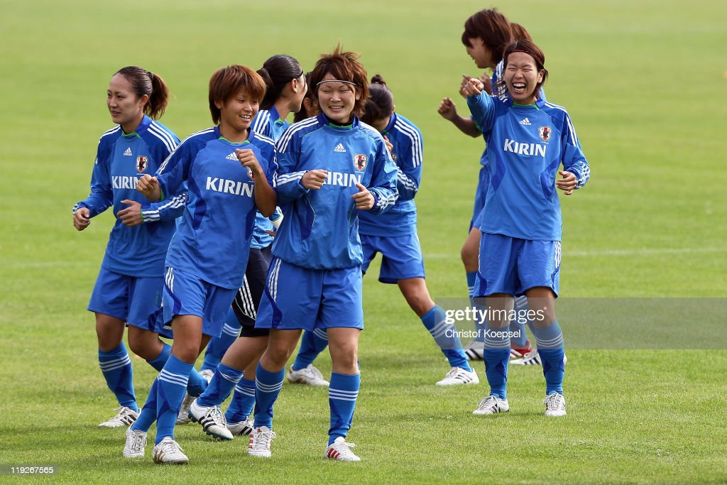 Japan Training Session - FIFA Women's World Cup 2011