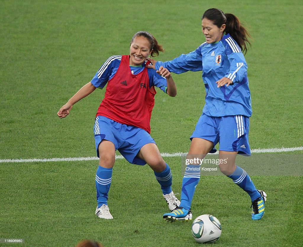 Japan Training & Press Conference - FIFA Women's World Cup 2011