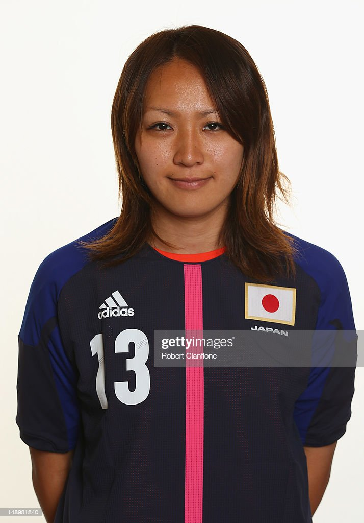 Japan Women's Official Olympic Football Team Portraits