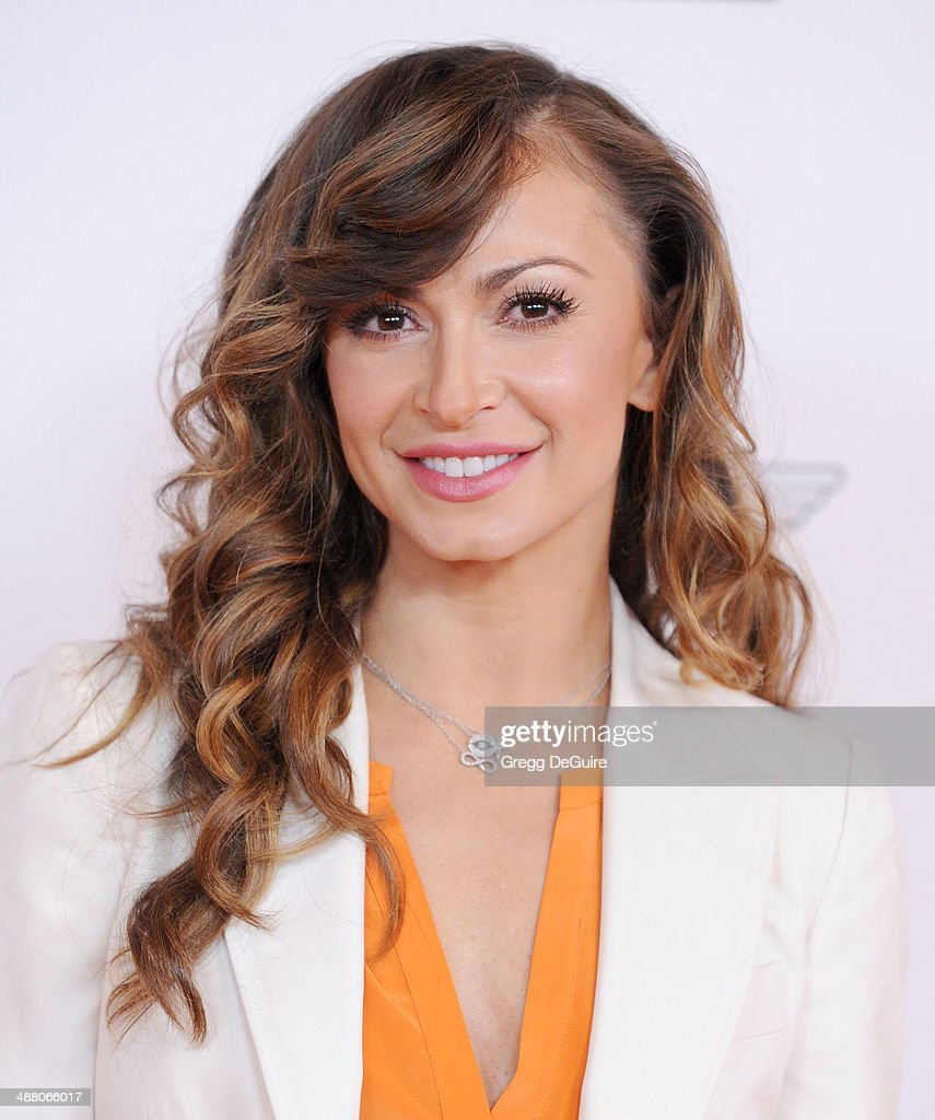 <a gi-track='captionPersonalityLinkClicked' href=/galleries/search?phrase=Karina+Smirnoff&family=editorial&specificpeople=4029232 ng-click='$event.stopPropagation()'>Karina Smirnoff</a> arrives at the 21st Annual Race To Erase MS Gala at the Hyatt Regency Century Plaza on May 2, 2014 in Century City, California.