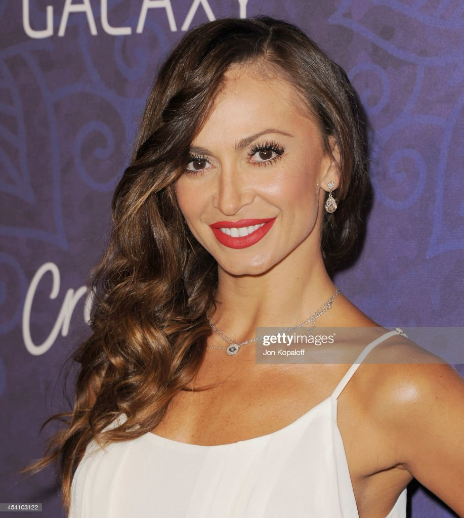 Karina Smirnoff arrives at Variety And Women In Film Annual Pre-Emmy Celebration at Gracias Madre on August 23, 2014 in West Hollywood, California.