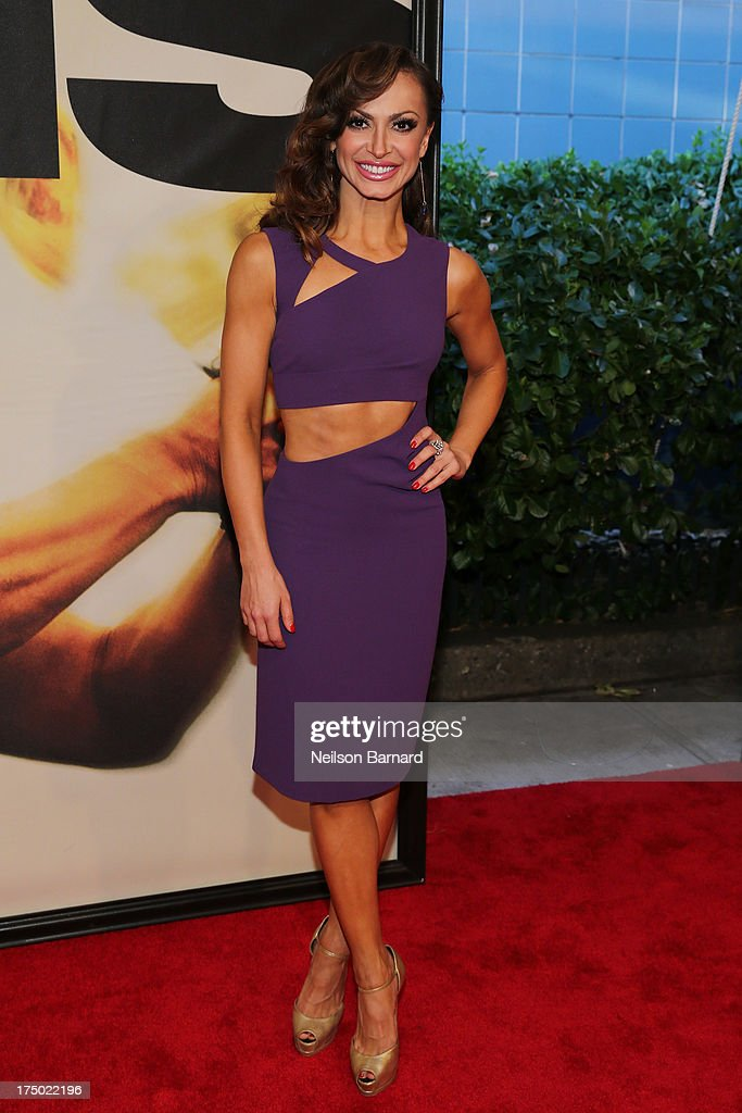 <a gi-track='captionPersonalityLinkClicked' href=/galleries/search?phrase=Karina+Smirnoff&family=editorial&specificpeople=4029232 ng-click='$event.stopPropagation()'>Karina Smirnoff</a> attends the '2 Guns' New York Premiere at SVA Theater on July 29, 2013 in New York City.
