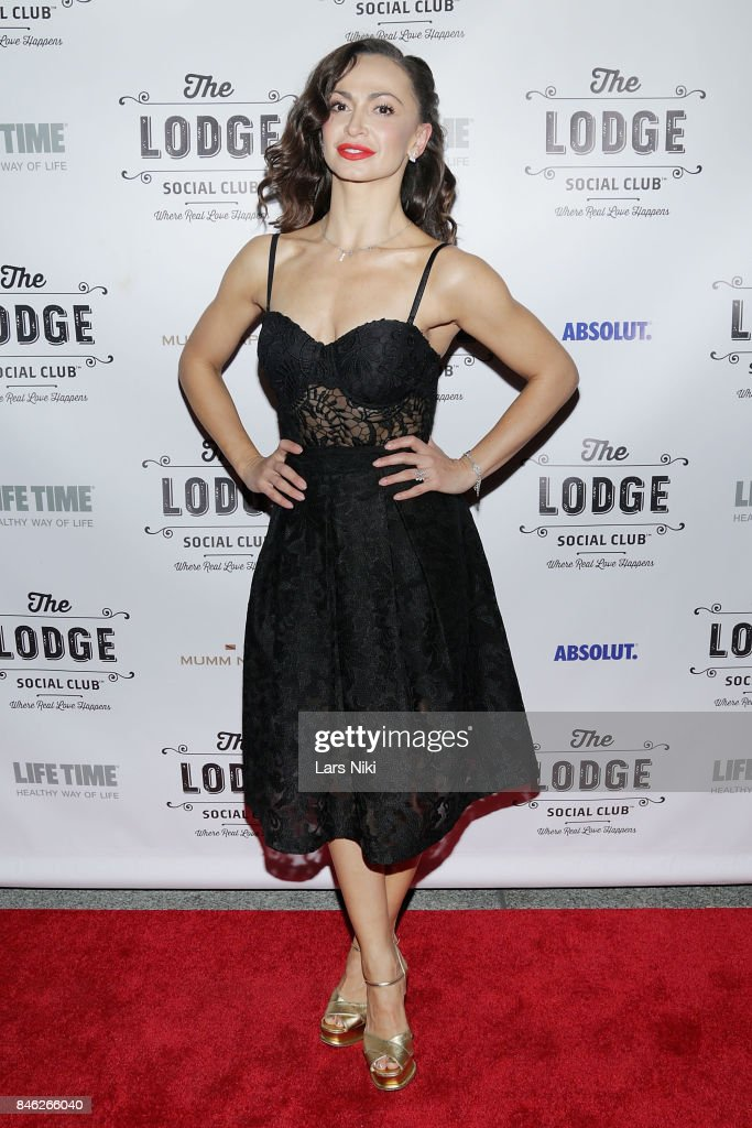 Karina Smirnoff attends The Lodge Social Club Global Love Launch at The Lodge Social Club on September 12, 2017 in New York City.