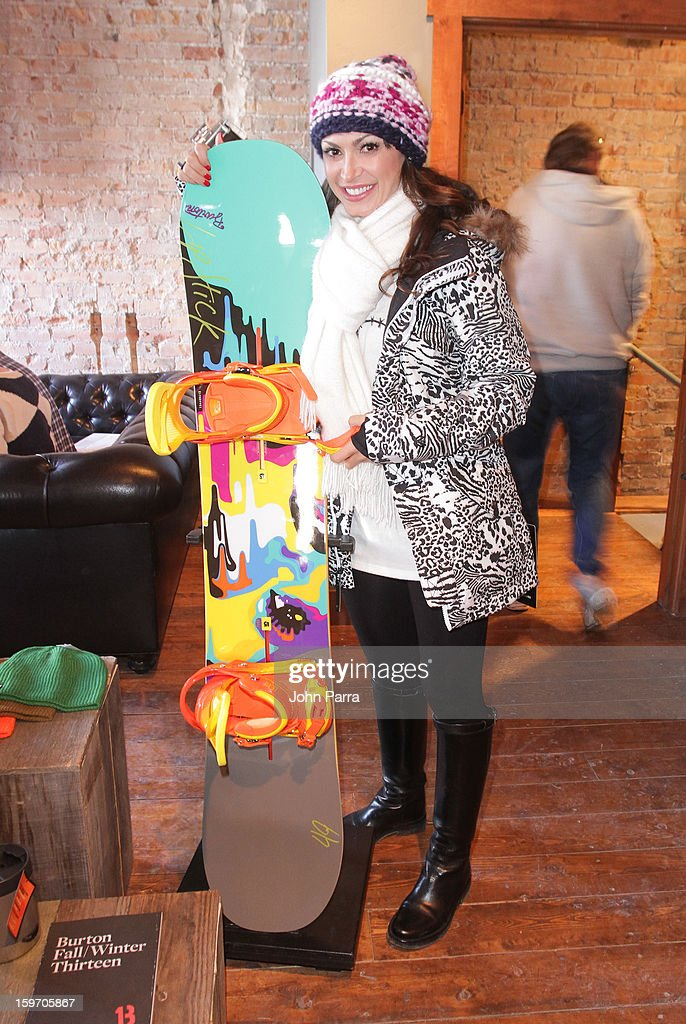 Karina Smirnoff attends the Nokia Music, SPIN, Sundance Channel and SomeSuch & Co Present New American Noise on January 18, 2013 in Park City, Utah.