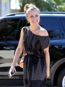 Karina Smirnoff is seen in Malibu on August 22 2013 in Los Angeles California