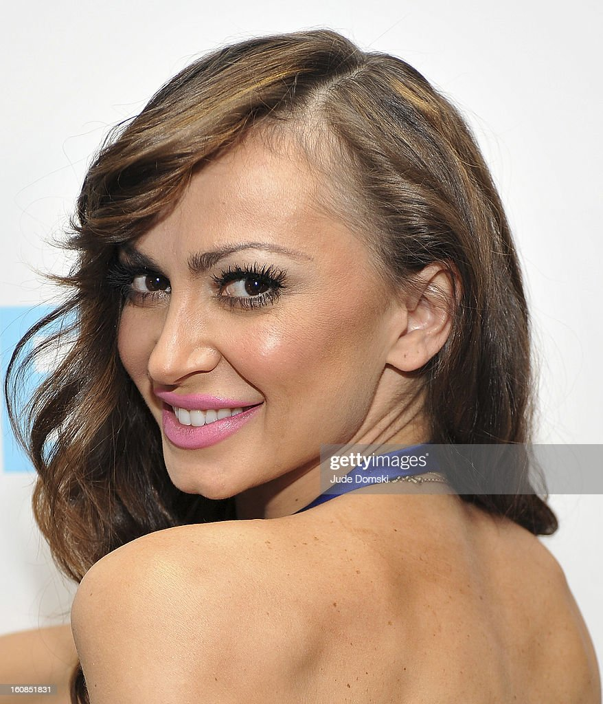 <a gi-track='captionPersonalityLinkClicked' href=/galleries/search?phrase=Karina+Smirnoff&family=editorial&specificpeople=4029232 ng-click='$event.stopPropagation()'>Karina Smirnoff</a>, of ÒDancing With The StarsÓ fame attends The Aquafina 'Pure Challenge' at The Empire Hotel Rooftop on February 6, 2013 in New York City.