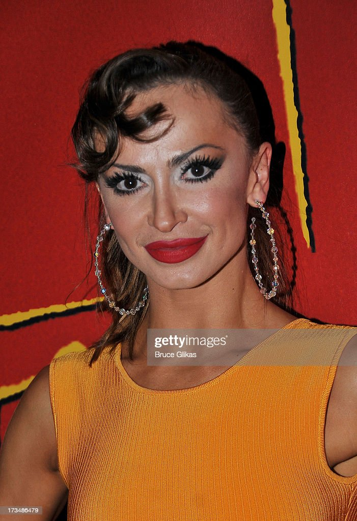 <a gi-track='captionPersonalityLinkClicked' href=/galleries/search?phrase=Karina+Smirnoff&family=editorial&specificpeople=4029232 ng-click='$event.stopPropagation()'>Karina Smirnoff</a> poses at the 'Forever Tango' opening night party at Planet Hollywood Times Square on July 14, 2013 in New York City.