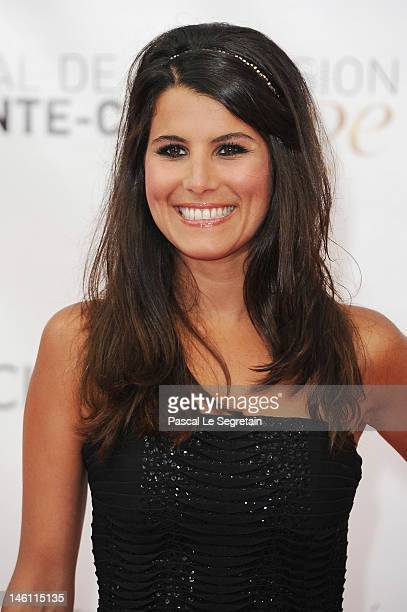 Karine Ferri arrives at the opening ceremony of the 2012 Monte Carlo Television Festival held at Grimaldi Forum on June 10 2012 in MonteCarlo Monaco