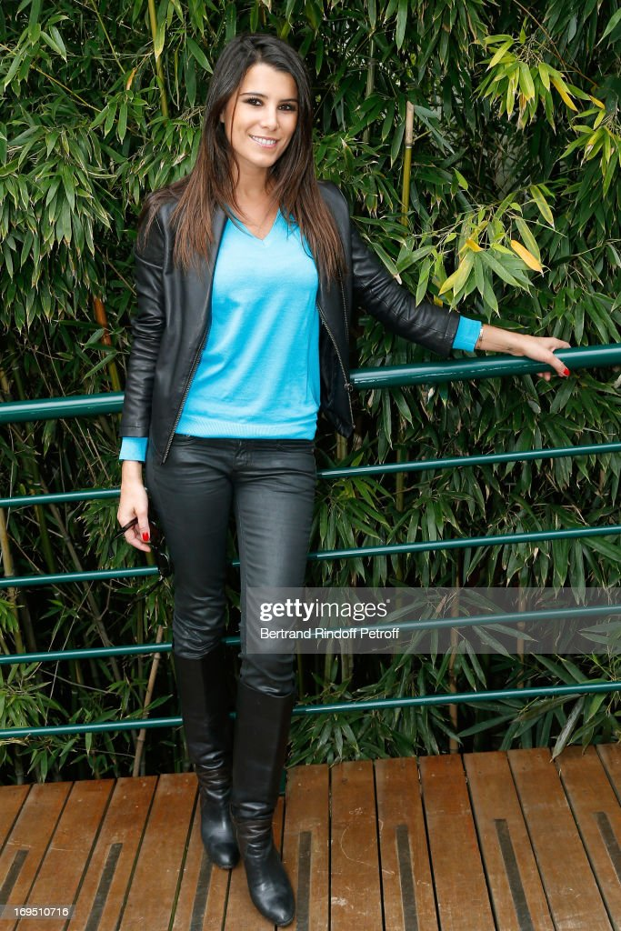 Karine Ferri attends Roland Garros Tennis French Open 2013 - Day 1 on May 26, 2013 in Paris, France.