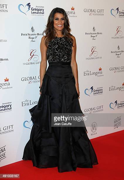 Karine Ferri attends the 'Global Gift Gala' 2014 Charity Dinner At The Four Seasons Hotel George V on May 12 2014 in Paris France
