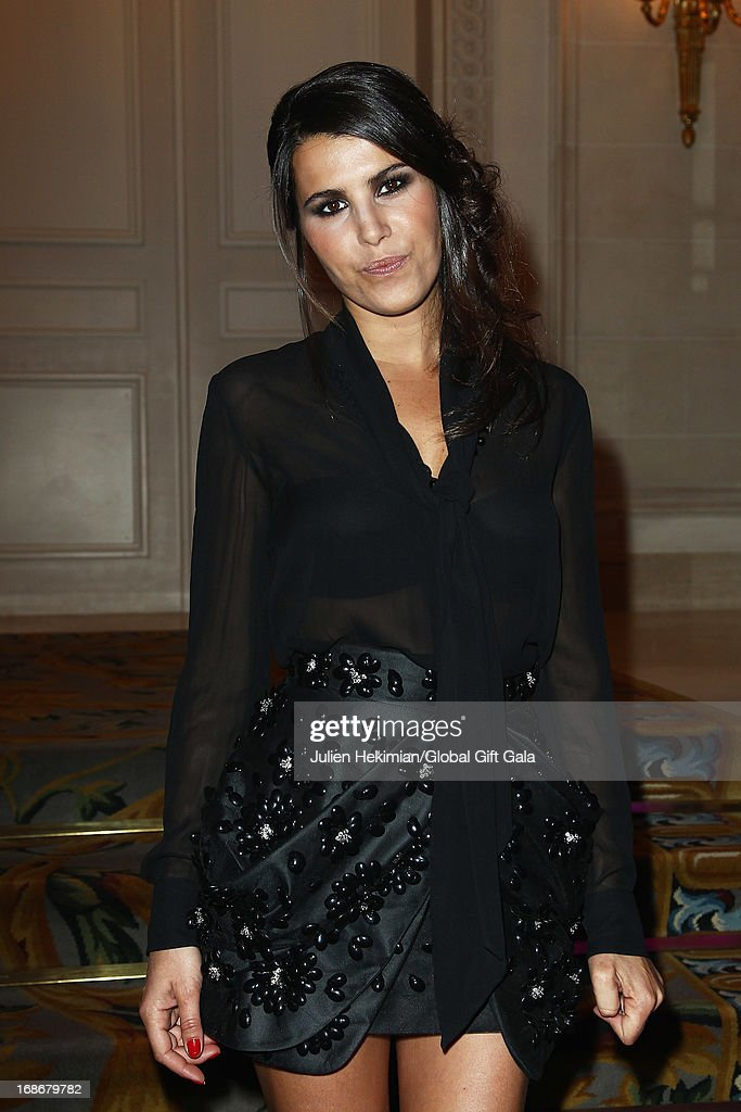 <a gi-track='captionPersonalityLinkClicked' href=/galleries/search?phrase=Karine+Ferri&family=editorial&specificpeople=4532443 ng-click='$event.stopPropagation()'>Karine Ferri</a> attends the 'Global Gift Gala' at Hotel George V on May 13, 2013 in Paris, France.