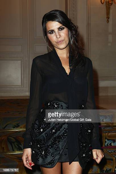 Karine Ferri attends the 'Global Gift Gala' at Hotel George V on May 13 2013 in Paris France
