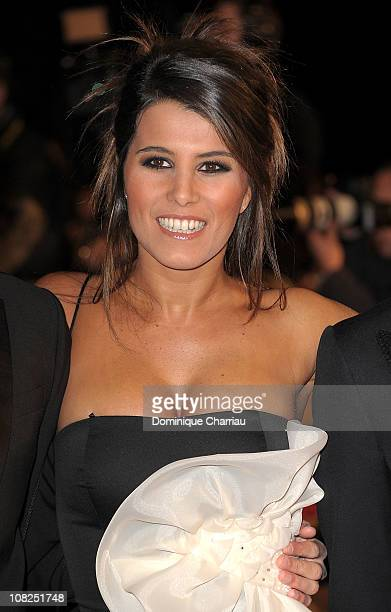 Karine Ferri attends the NRJ Music Awards 2011 on January 22 2011 in Cannes France