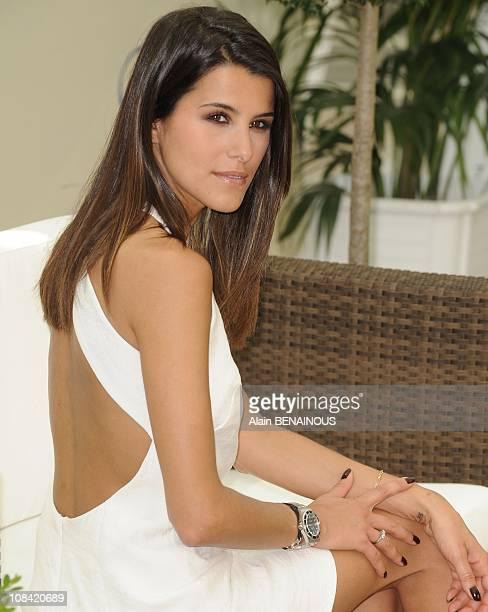 Karine Ferri in Monte Carlo Monaco on June 08 2009