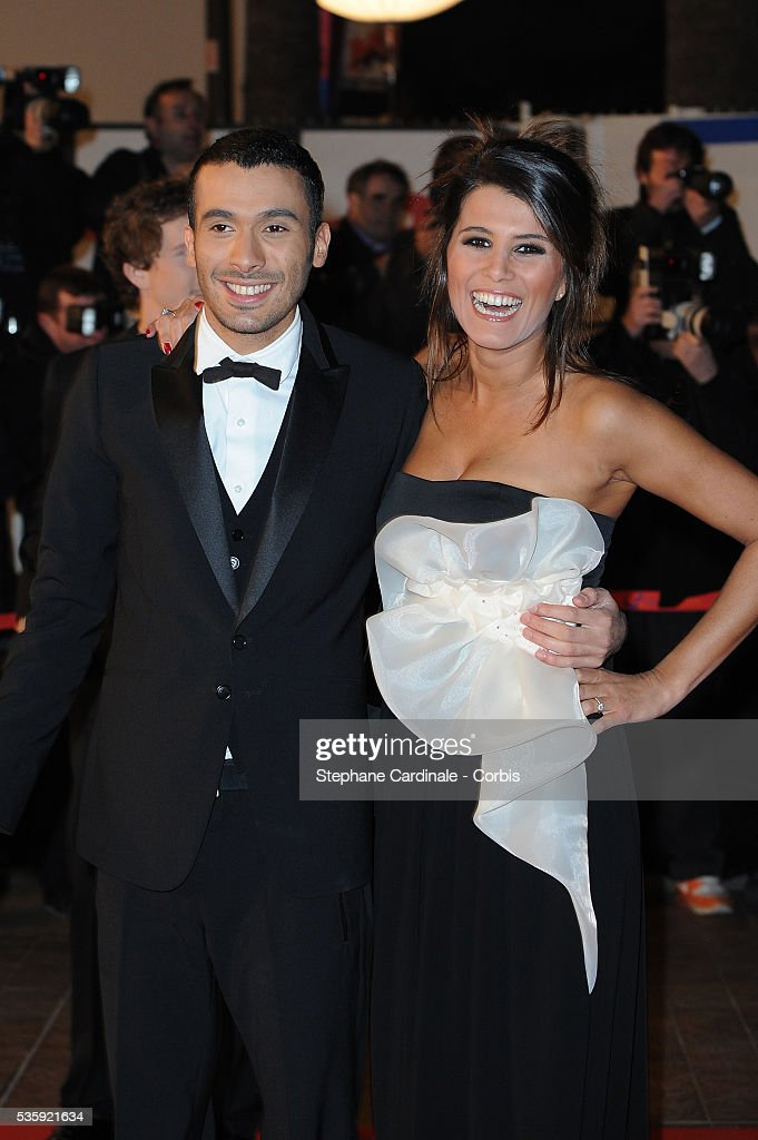 Karine Ferry and Mustapha El Atrassi attend the NRJ Music Awards 2011 at the 'Palais des Festivals et des Congres' in Cannes.