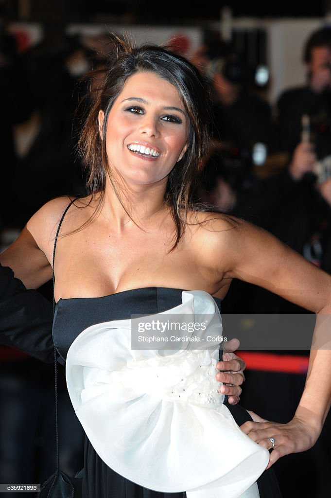 Karine Ferry attends the NRJ Music Awards 2011 at the 'Palais des Festivals et des Congres' in Cannes.