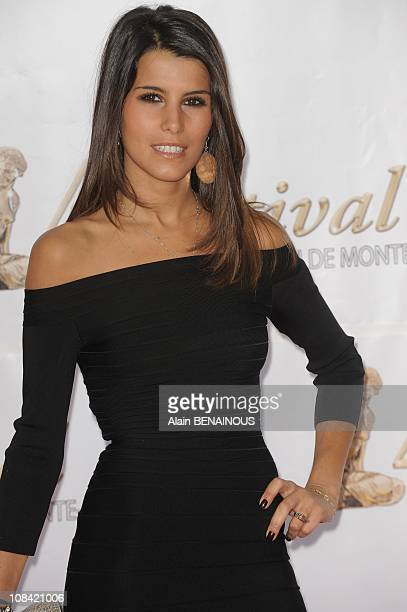 Karine Ferry attends the opening night of the 2009 Monte Carlo Television Festival held at Grimaldi Forum in Monte Carlo Monaco on June 07 2009