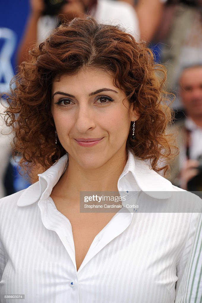 Karine Gidi at the photocall for 'Abel' during the 63rd Cannes International Film Festival.
