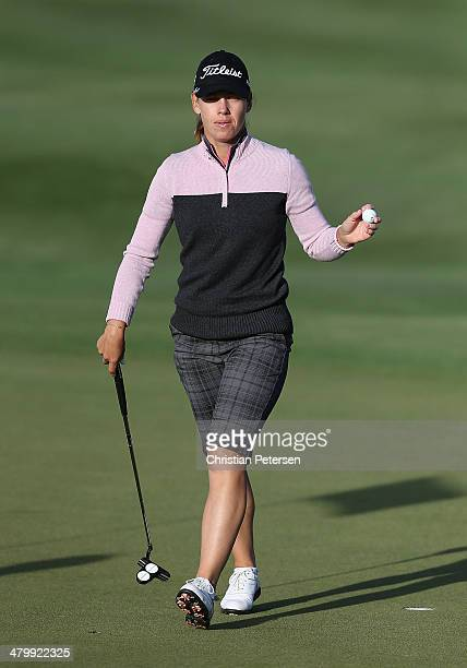 Karine Icher of France during the first round of the JTBC LPGA Founders Cup at Wildfire Golf Club on March 20 2014 in Phoenix Arizona