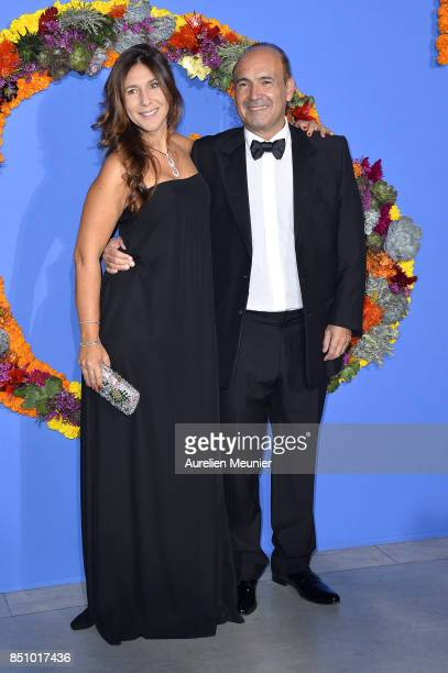 Karine Journo and Philippe Journo attend the opening season gala at Opera Garnier on September 21 2017 in Paris France