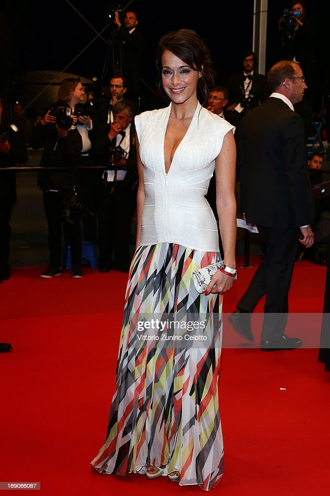 Karine Lima attends the 'Borgman' Premiere during the 66th Annual Cannes Film Festival at the Palais des Festivals on May 19, 2013 in Cannes, France.