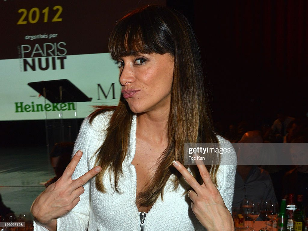 Karine Lima attends The 'Paris Nuit 2012' - Les Trophees De La Nuit - Night Clubbing Awards Ceremony at the Lido on November 26, 2012 in Paris, France. (Photo by Foc Kan/WireImage)Shirley Souagnon;Karine Lima