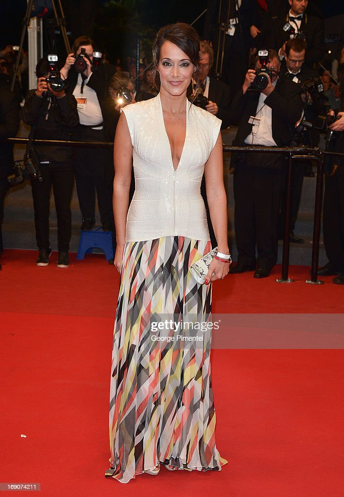 Karine Lima attends the Premiere of 'Borgman' at The 66th Annual Cannes Film Festival on May 19, 2013 in Cannes, France.