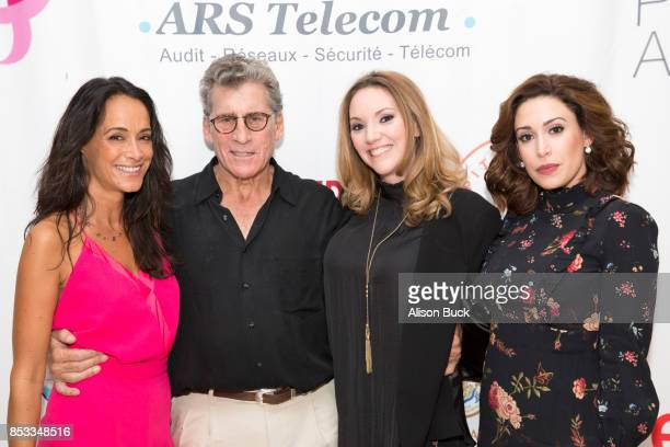 Karine Lima Paul Michael Glaser Vanessa Moselle and Catherine LeFrere attend Vanessa Moselle 'Just Because' part one silent auction benefiting Susan...