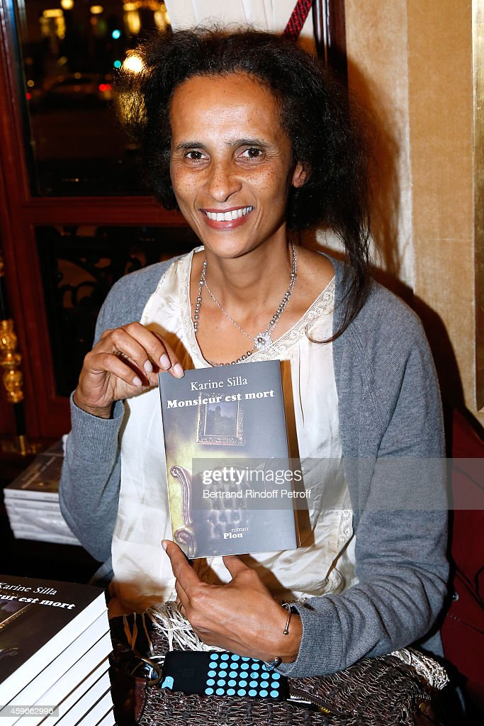 Karine Silla attends the 37th Writers Cocktail, organized by Circle Maxim's Business Club in Fairs Fouquet's, on November 27, 2014 in Paris, France.
