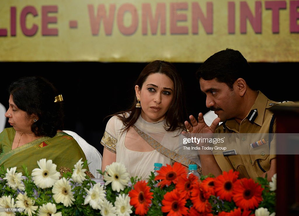 Karisma Kapoor at the function organised to create awareness among women as a part of the ongoing drive initiated by the Mumbai Police.