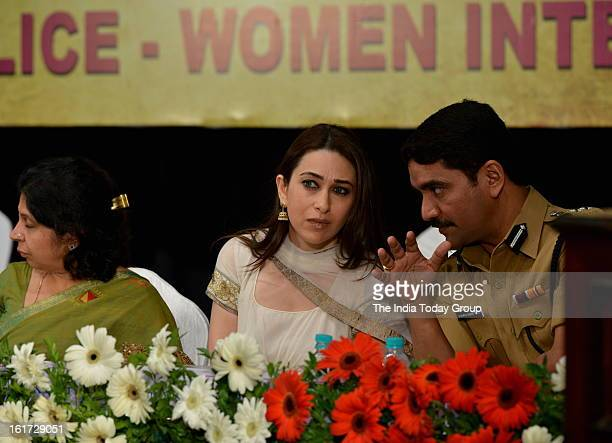 Karisma Kapoor at the function organised to create awareness among women as a part of the ongoing drive initiated by the Mumbai Police