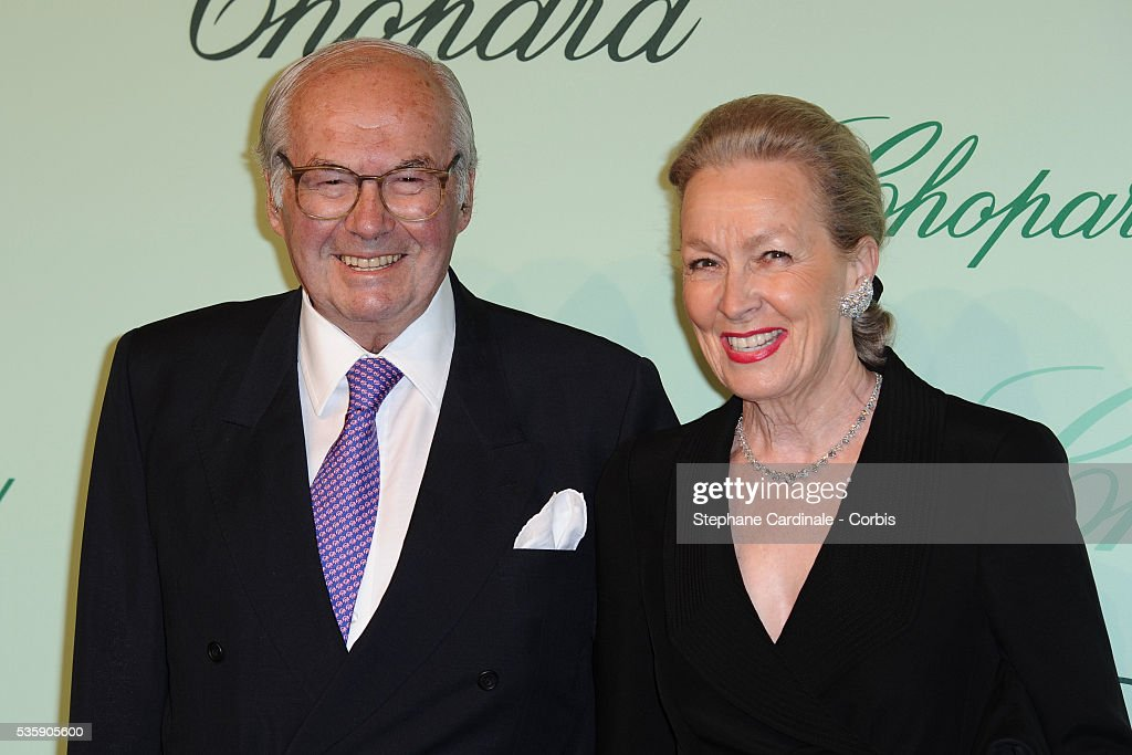 Karl and Karin Scheufele at the 'Chopard 150th Anniversary Party' during the 63rd Cannes International Film Festival.