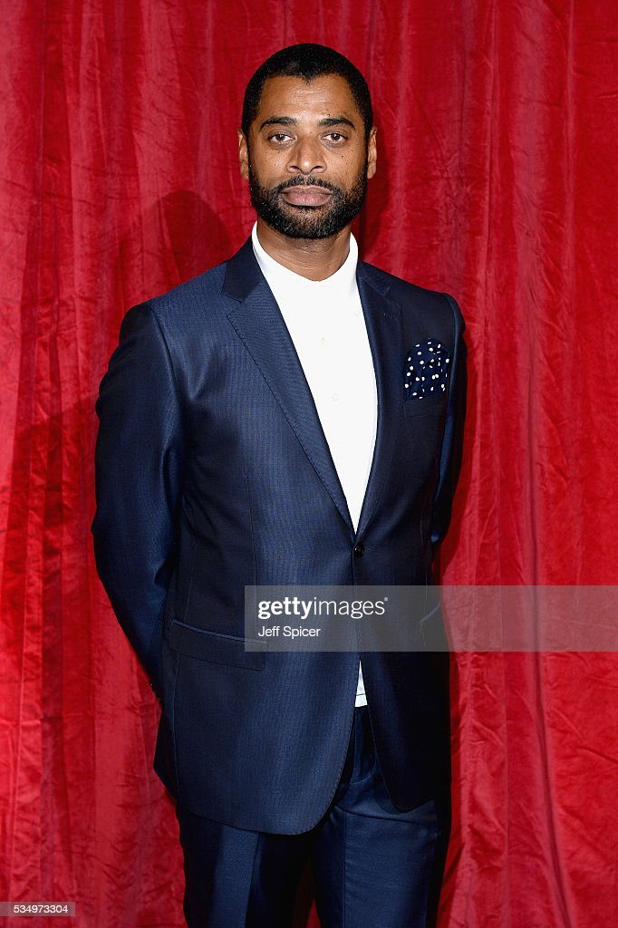 Karl Collins attends the British Soap Awards 2016 at Hackney Empire on May 28, 2016 in London, England.