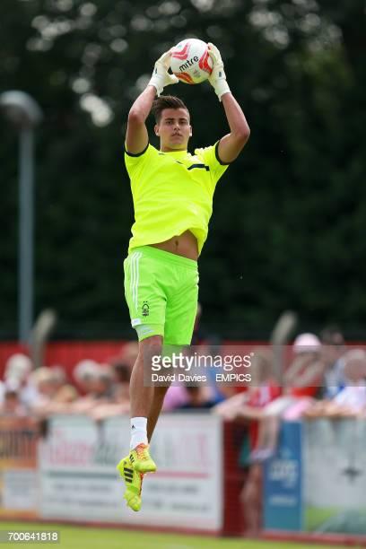 Karl Darlow Nottingham Forest goalkeeper