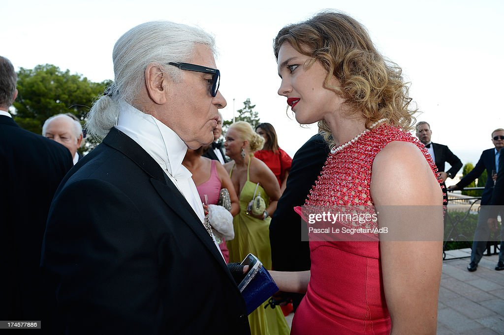 <a gi-track='captionPersonalityLinkClicked' href=/galleries/search?phrase=Karl+Lagerfeld+-+Fashion+Designer&family=editorial&specificpeople=4330565 ng-click='$event.stopPropagation()'>Karl Lagerfeld</a> and <a gi-track='captionPersonalityLinkClicked' href=/galleries/search?phrase=Natalia+Vodianova&family=editorial&specificpeople=203265 ng-click='$event.stopPropagation()'>Natalia Vodianova</a> attend the cocktail at the 'Love Ball' hosted by <a gi-track='captionPersonalityLinkClicked' href=/galleries/search?phrase=Natalia+Vodianova&family=editorial&specificpeople=203265 ng-click='$event.stopPropagation()'>Natalia Vodianova</a> in support of The Naked Heart Foundation at Opera Garnier on July 27, 2013 in Monaco, Monaco.