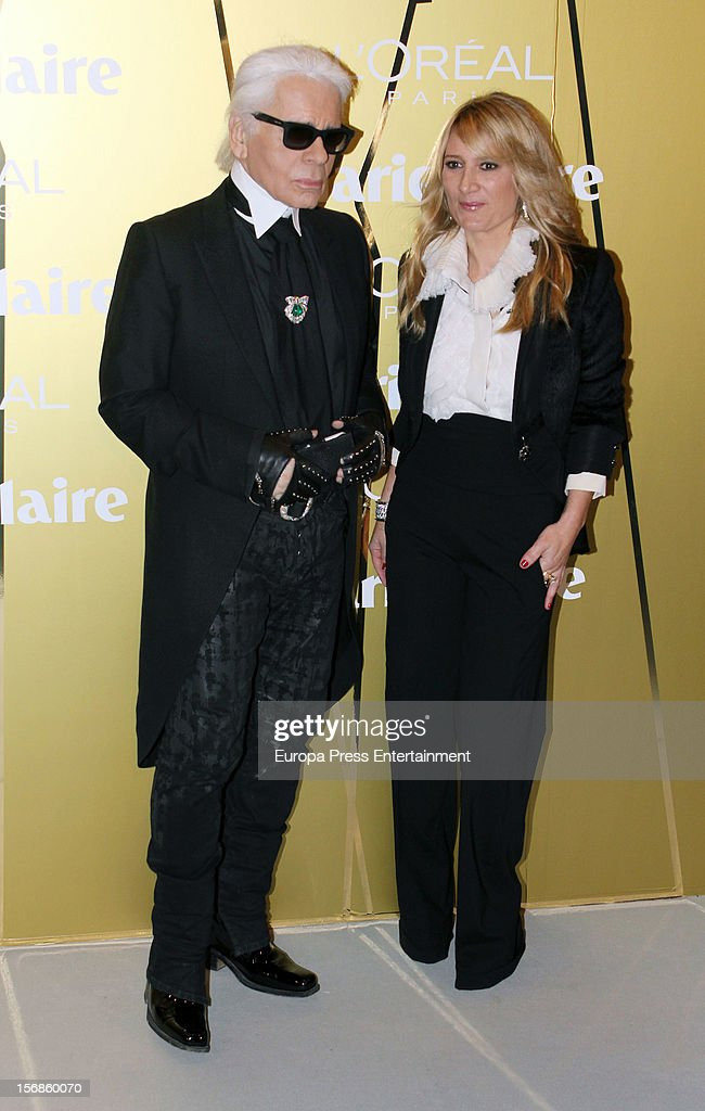 <a gi-track='captionPersonalityLinkClicked' href=/galleries/search?phrase=Karl+Lagerfeld+-+Fashion+Designer&family=editorial&specificpeople=4330565 ng-click='$event.stopPropagation()'>Karl Lagerfeld</a> attends Marie Claire Prix de la Moda Awards 2012 on November 22, 2012 in Madrid, Spain.