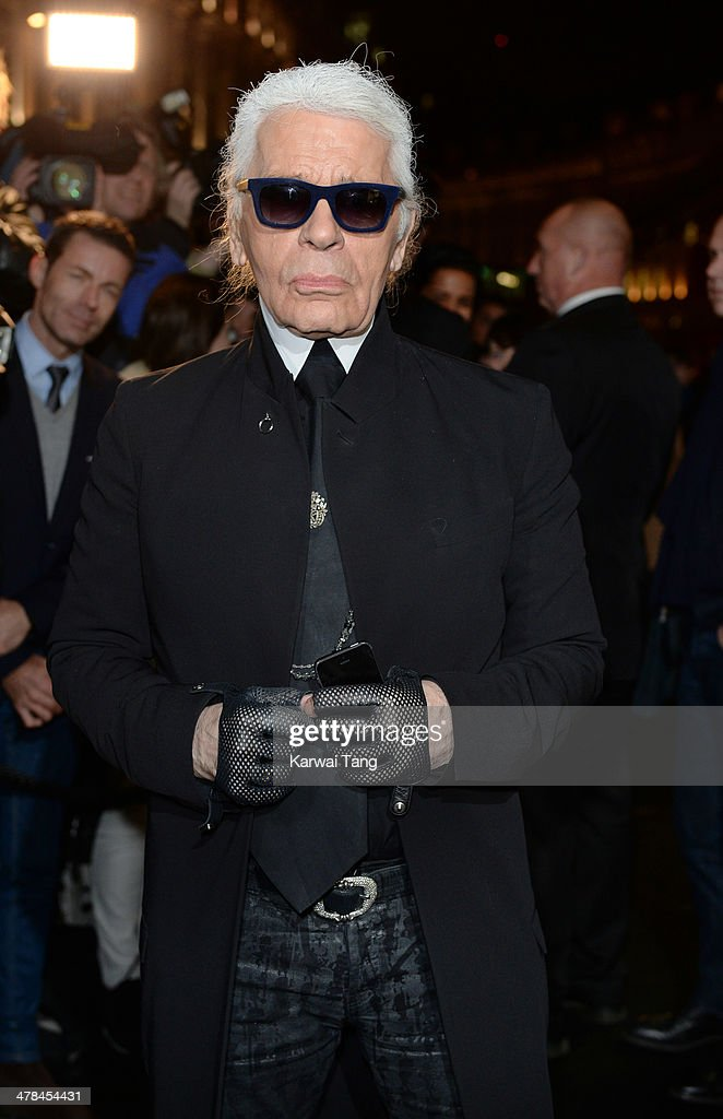 <a gi-track='captionPersonalityLinkClicked' href=/galleries/search?phrase=Karl+Lagerfeld+-+Fashion+Designer&family=editorial&specificpeople=4330565 ng-click='$event.stopPropagation()'>Karl Lagerfeld</a> attends the <a gi-track='captionPersonalityLinkClicked' href=/galleries/search?phrase=Karl+Lagerfeld+-+Fashion+Designer&family=editorial&specificpeople=4330565 ng-click='$event.stopPropagation()'>Karl Lagerfeld</a> flagship store opening at Regent Street on March 13, 2014 in London, England.