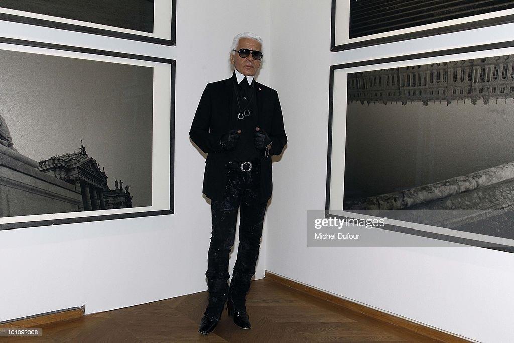 Karl lagerfeld exhibition launch at maison europeenne de la photographie getty images - Linge de maison karl lagerfeld ...
