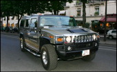Karl Lagerfeld's Hummer at Opening Night Of The Play 'Mademoiselle Chanel' In Paris