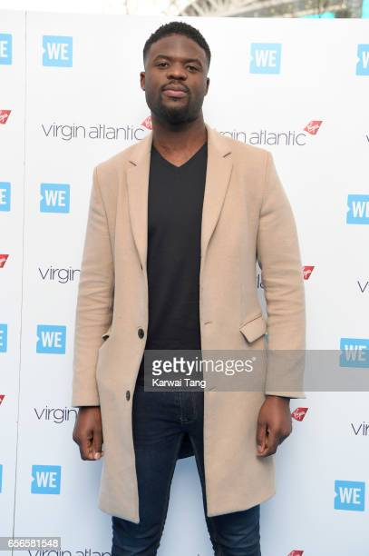 Karl Lokko attends WE Day UK at The SSE Arena on March 22 2017 in London United Kingdom