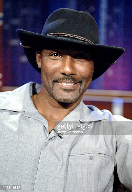 Karl Malone on the 'Jimmy Kimmel Live' show on ABC Photo by Jaimie Trueblood/WireImage/ABC