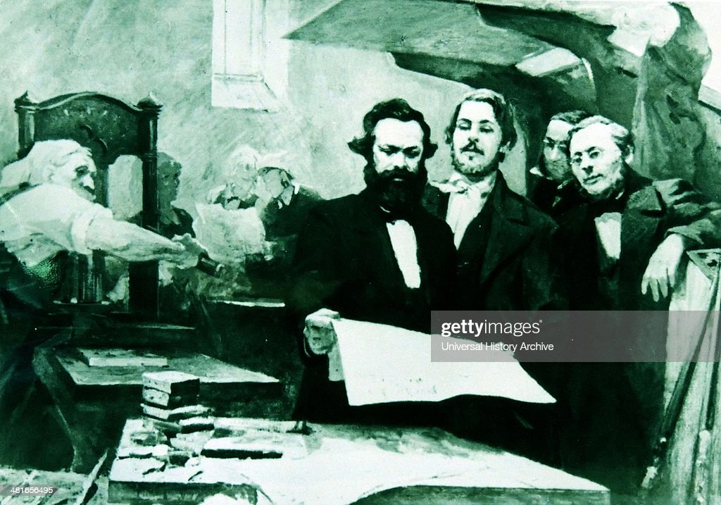 Karl Marx and Friedrich Engels was a German social scientist author political theorist marx was a German philosopher economist sociologist historian...