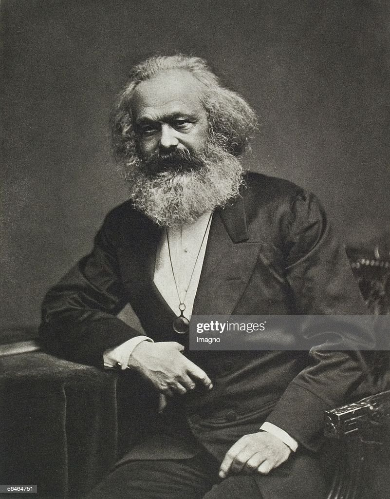 Karl Marx. Around 1880. Photography. (Photo by Imagno/Getty Images) [Karl Marx. Um 1880. Photographie.]