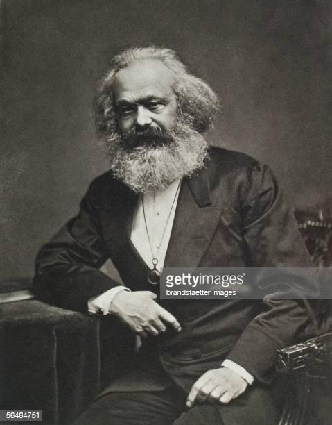 Karl Marx Around 1880 Photography [Karl Marx Um 1880 Photographie]