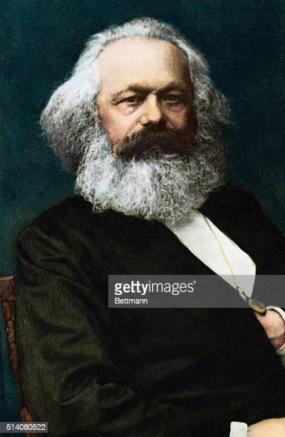 Karl Marx German political philosopher author of Das Kapital