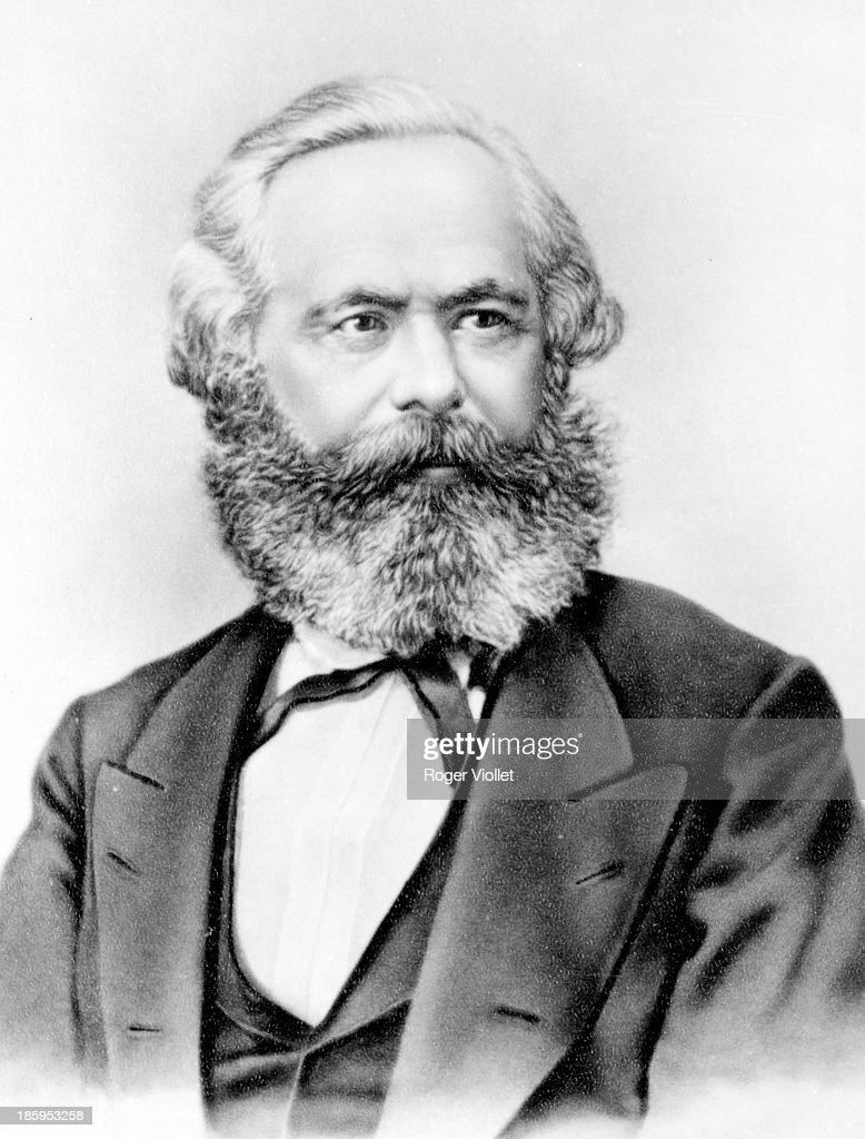 Karl <a gi-track='captionPersonalityLinkClicked' href=/galleries/search?phrase=Marx&family=editorial&specificpeople=76462 ng-click='$event.stopPropagation()'>Marx</a> (1818-1883), German social theorist and revolutionary.