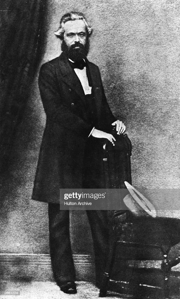 Karl Marx German socialist philosopher founder of international Communism and social political and economic theorist