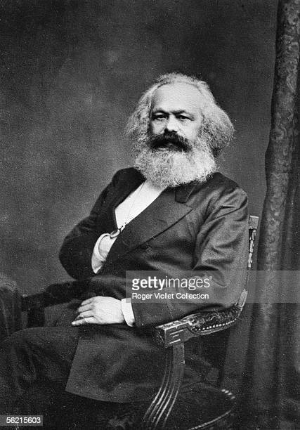 Karl Marx philosopher and German politician